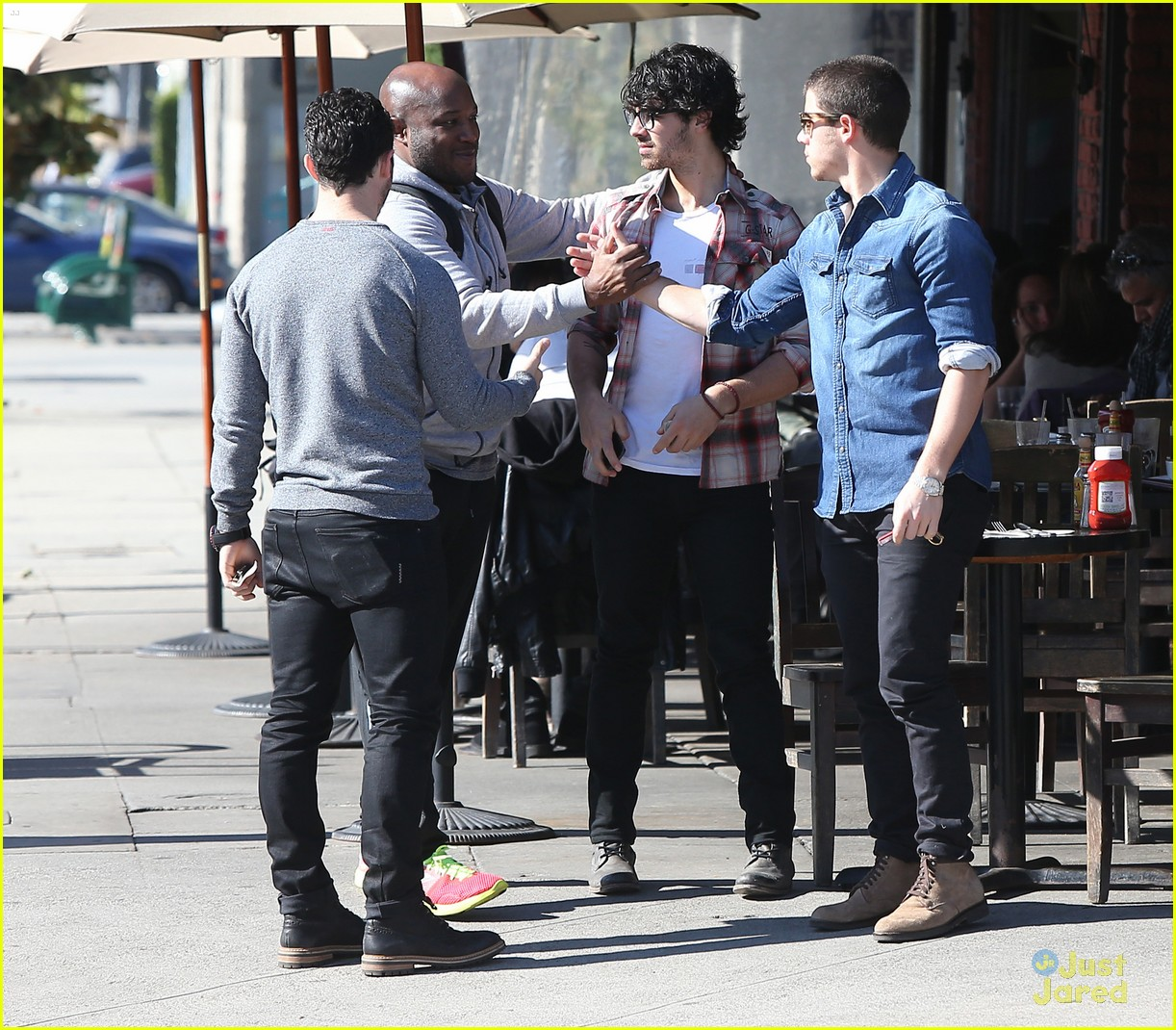 jonas brothers kings road lunch 17