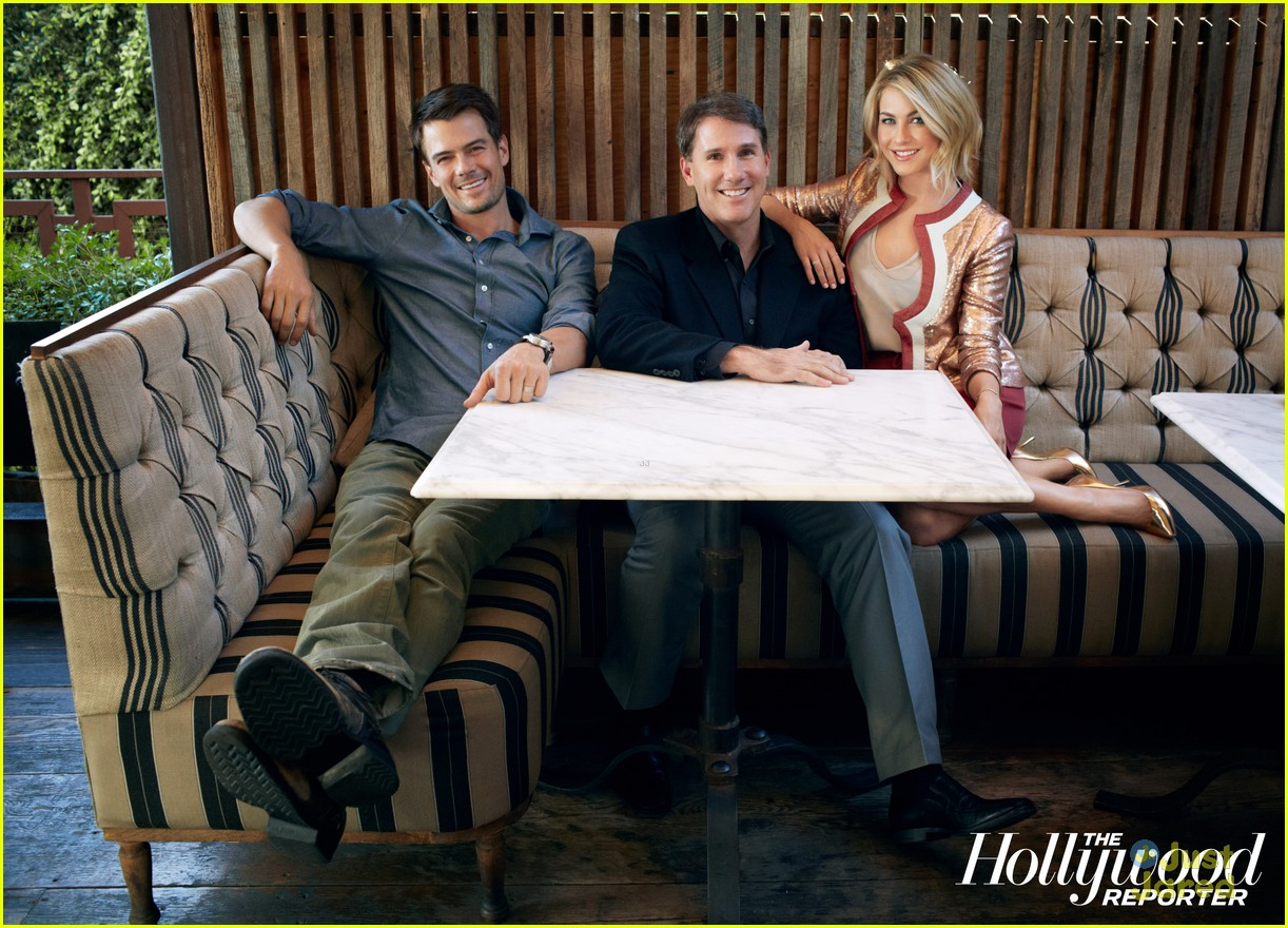 Julianne Hough: THR's 'Power Authors' Feature with Nicholas Sparks 2013