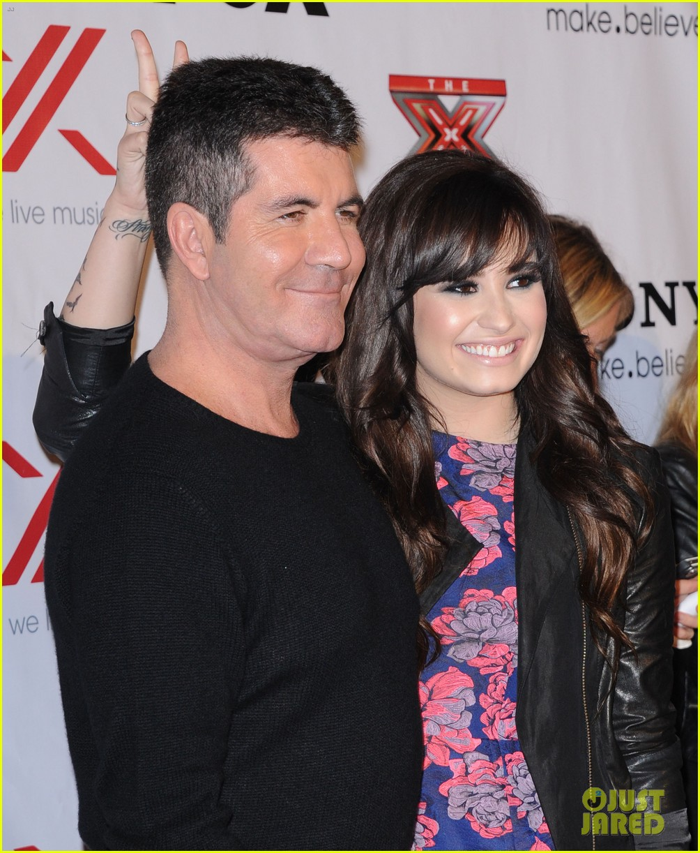 demi lovato x factor party 06