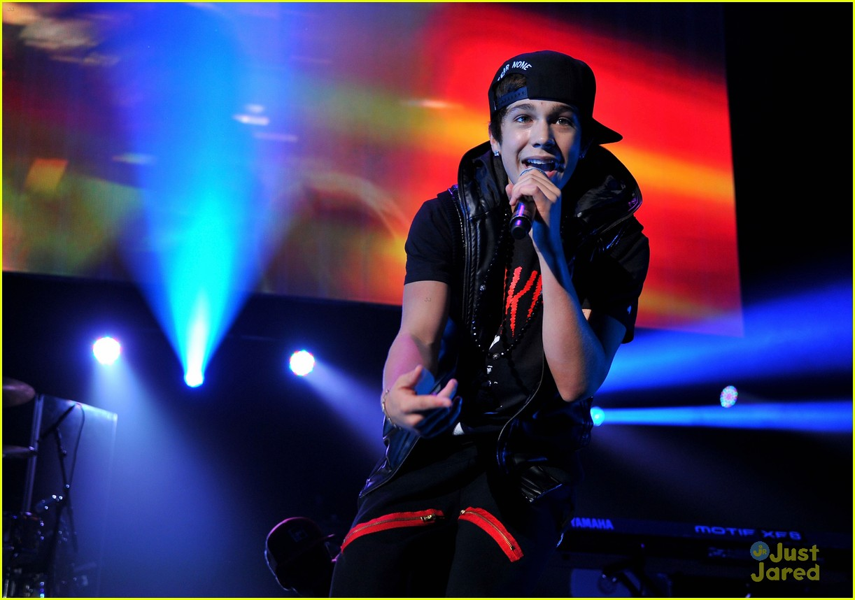 austin mahone 995 dc jingle ball 14
