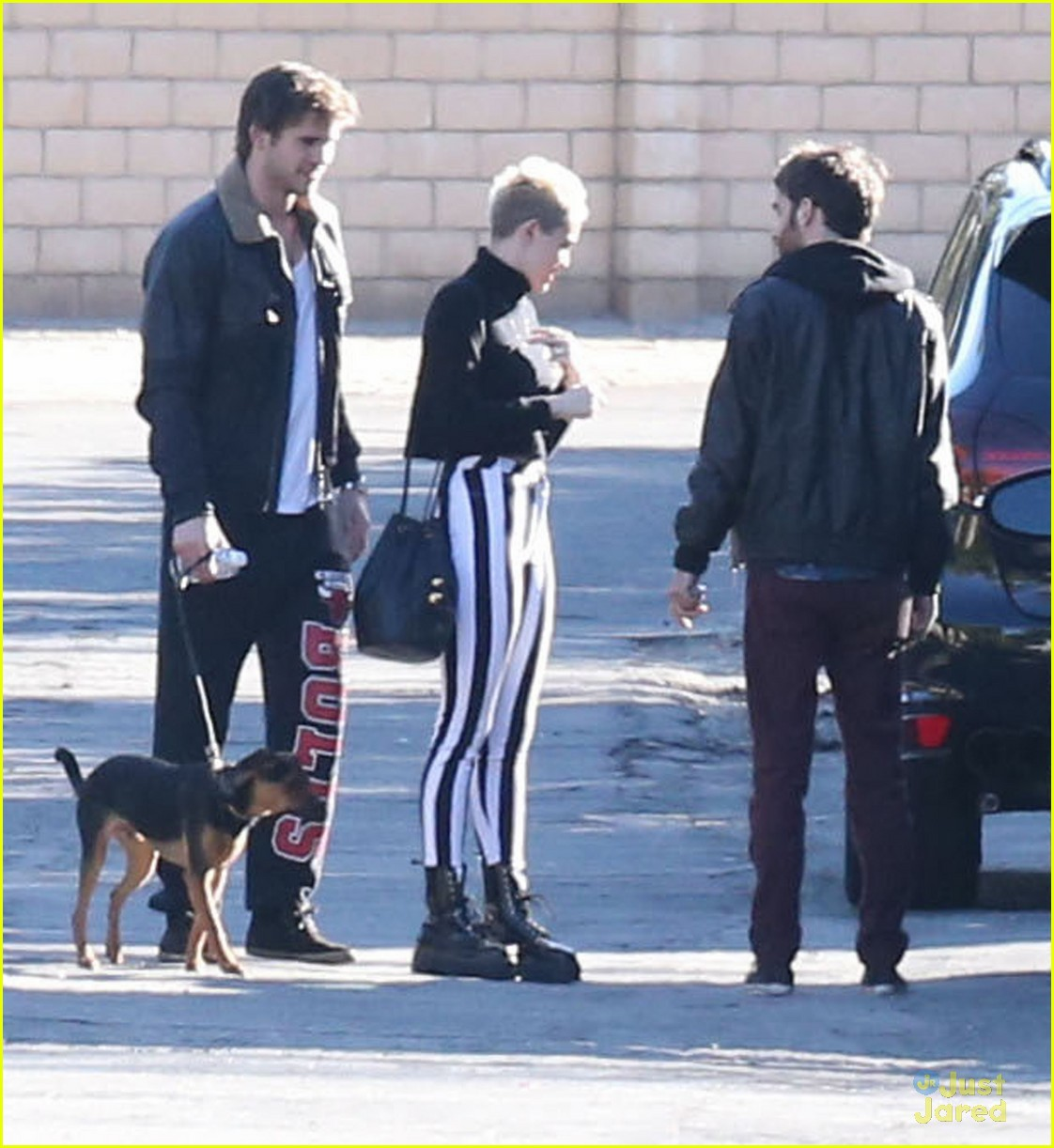 miley cyrus liam hemsworth post christmas family gathering 06