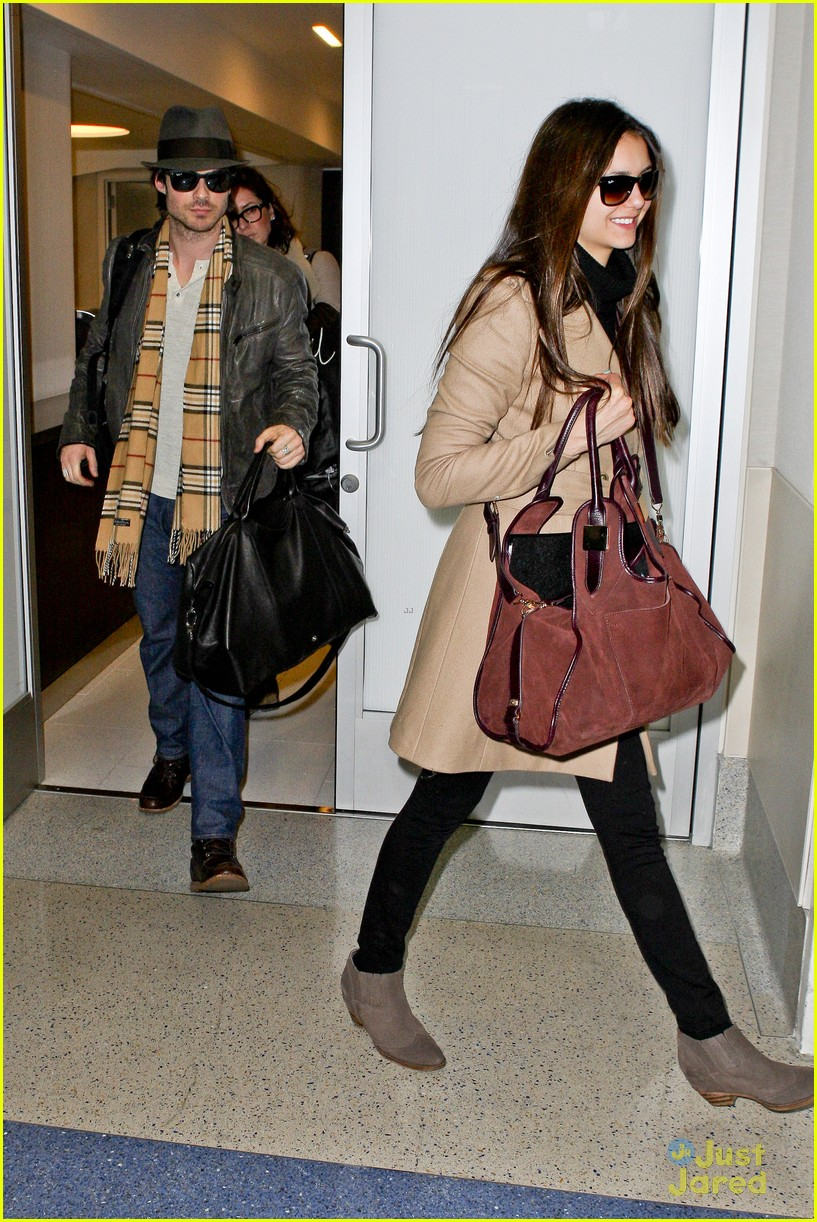 nina dobrev ian somerhalder lax china 09