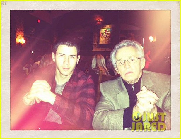 nick jonas meet my grandpa