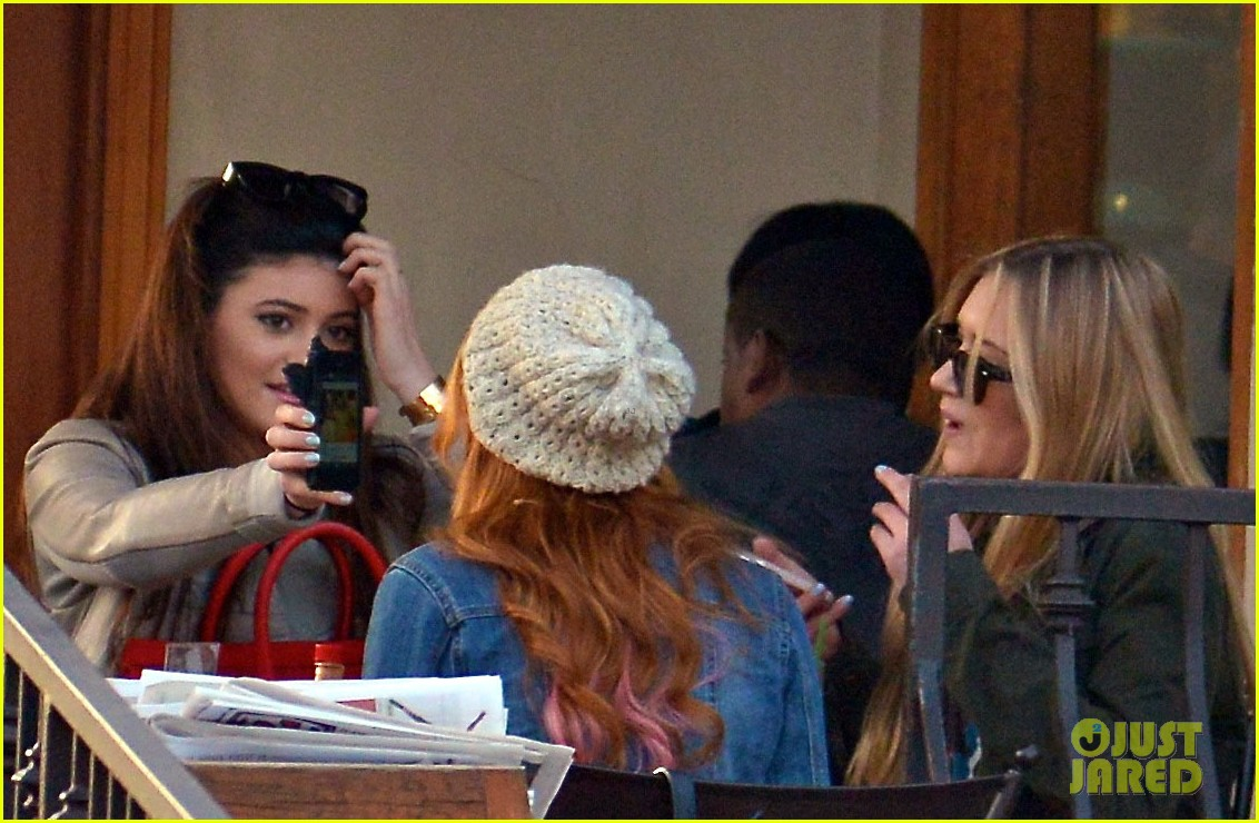 bela thorne kylie jenner lunch 28