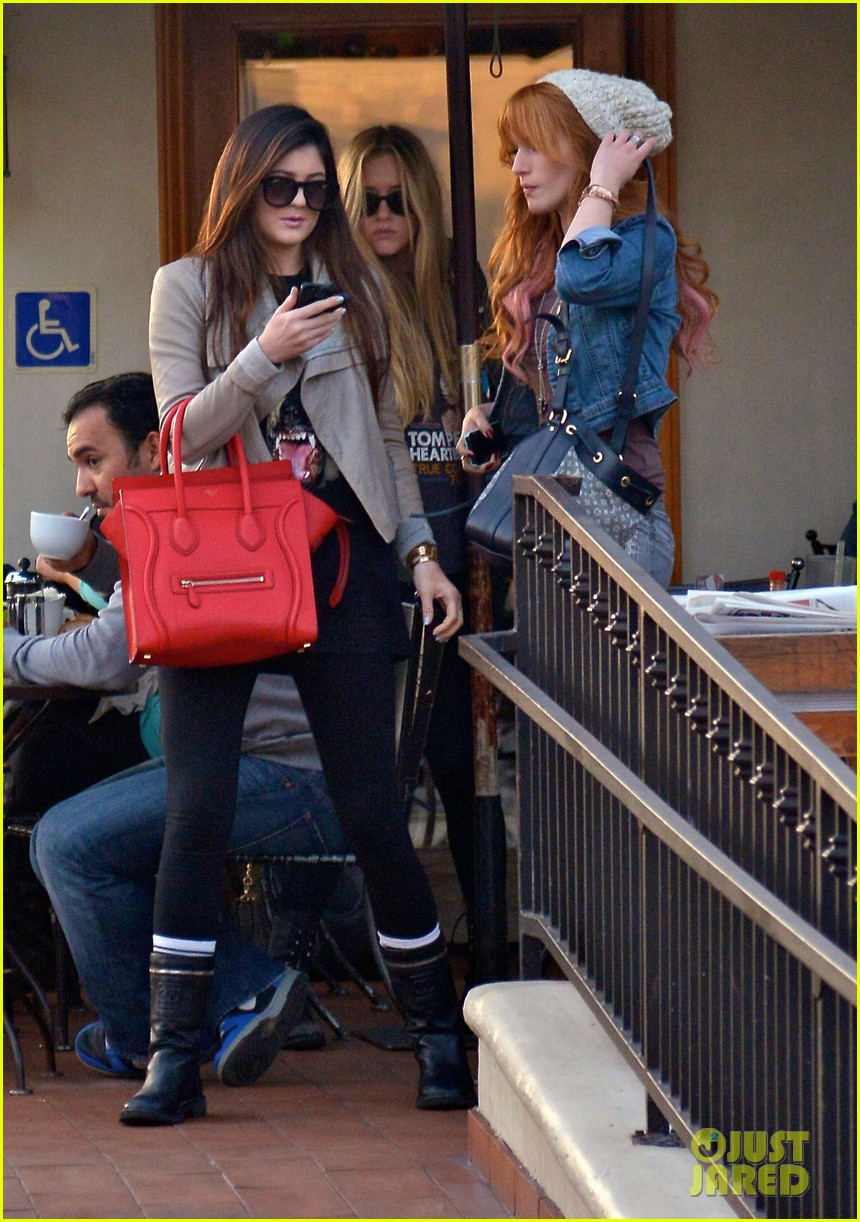bela thorne kylie jenner lunch 30