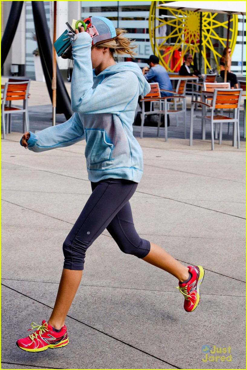 ashley tisdale gym meeting 14