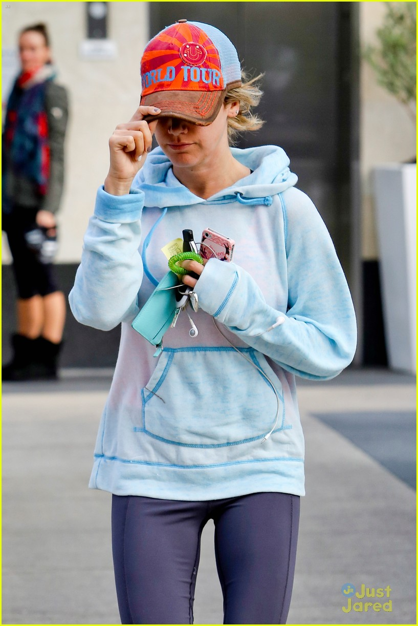 ashley tisdale gym meeting 17