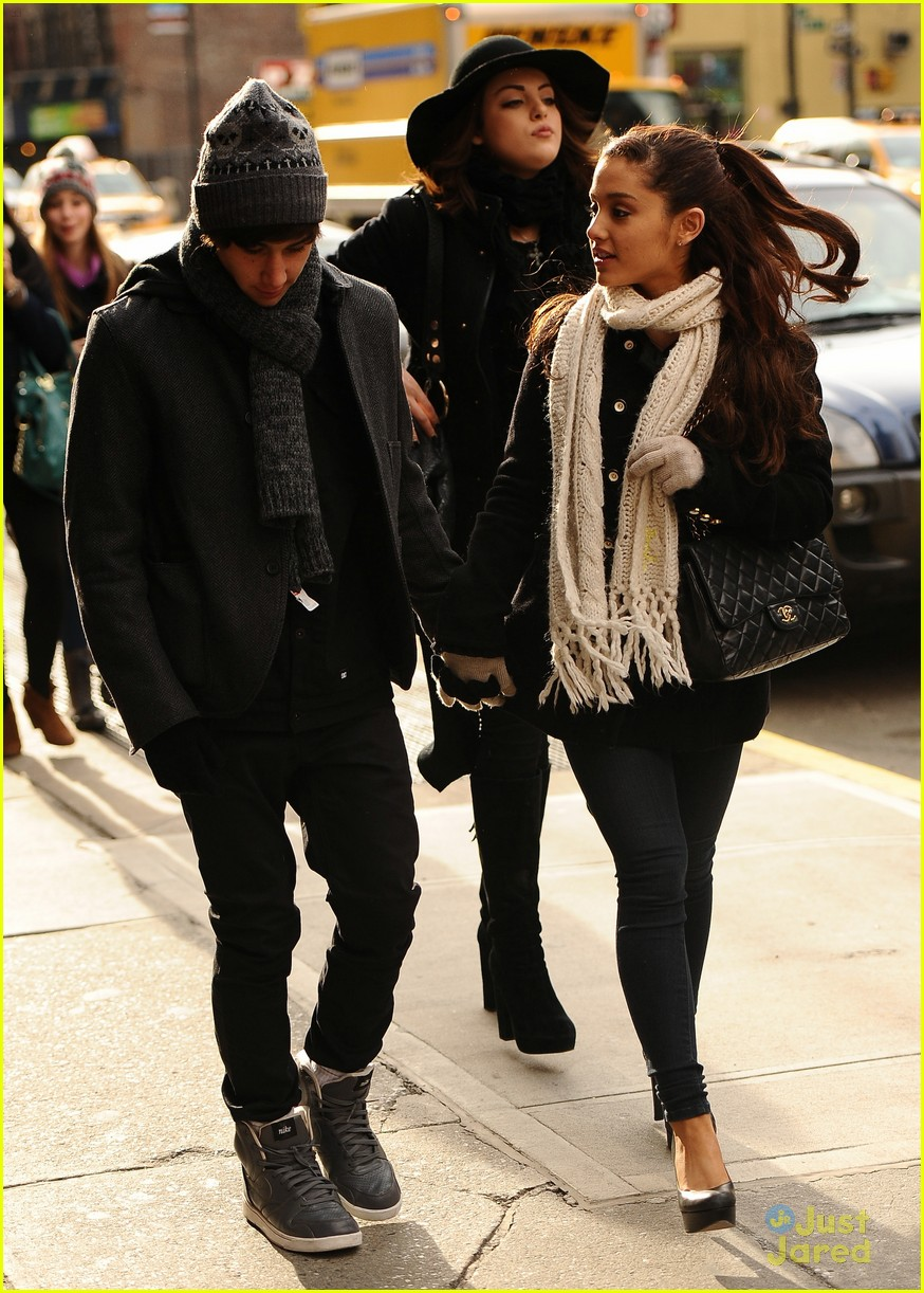 ariana grande jai brooks nyc outing 03