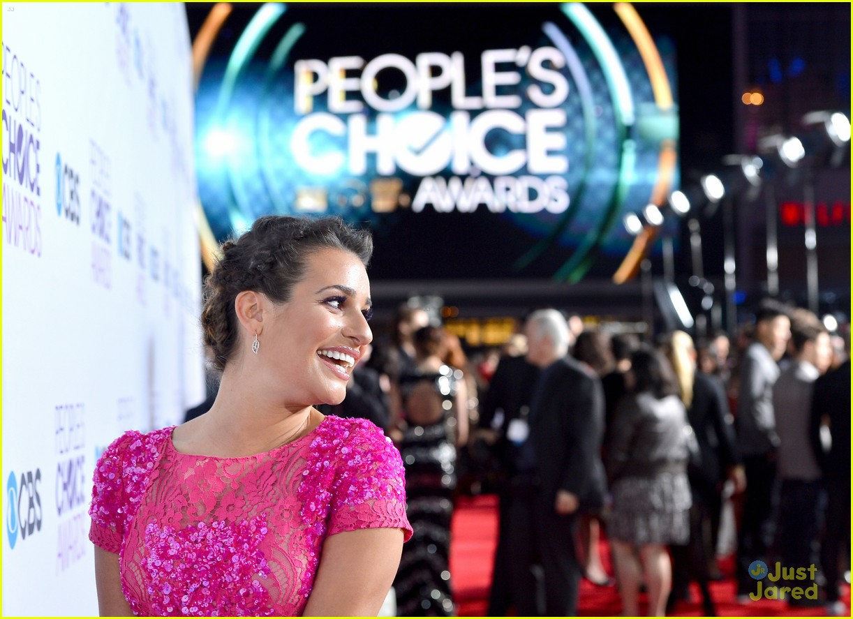 chris colfer lea michele pca 2013 winners 23