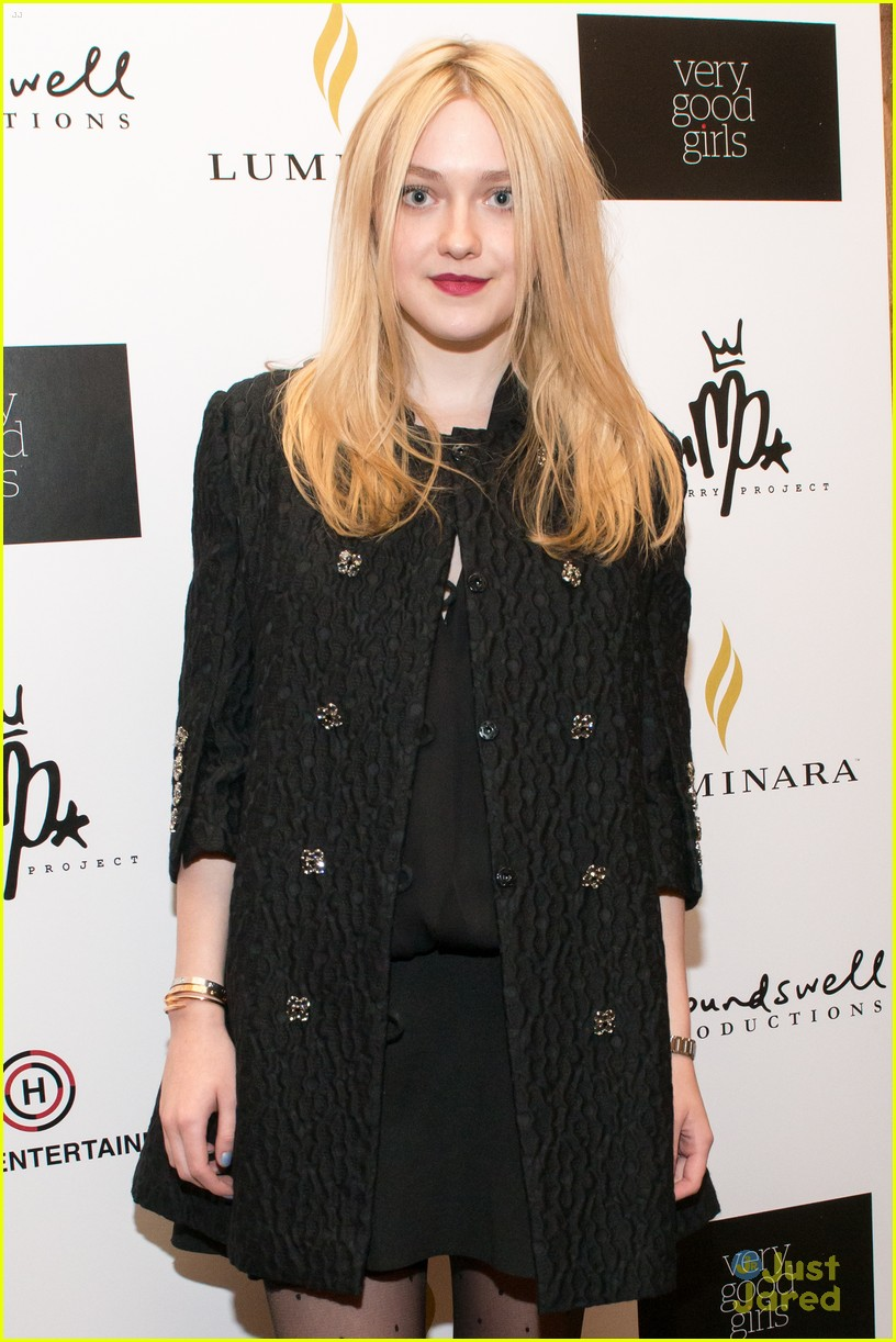 dakota fanning vgg sundance 09