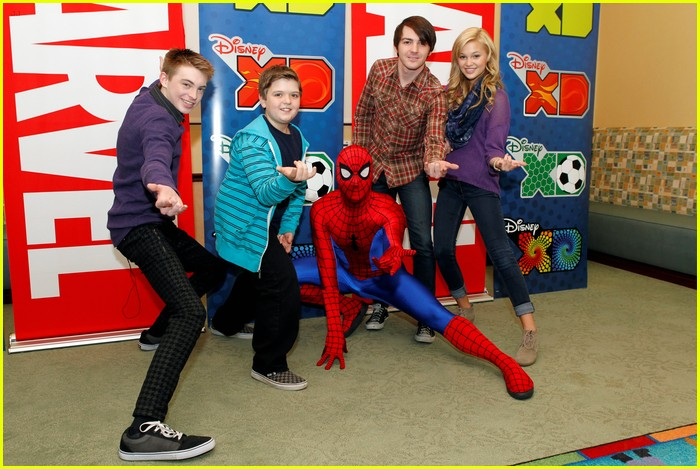 drake bell read with marvel 03