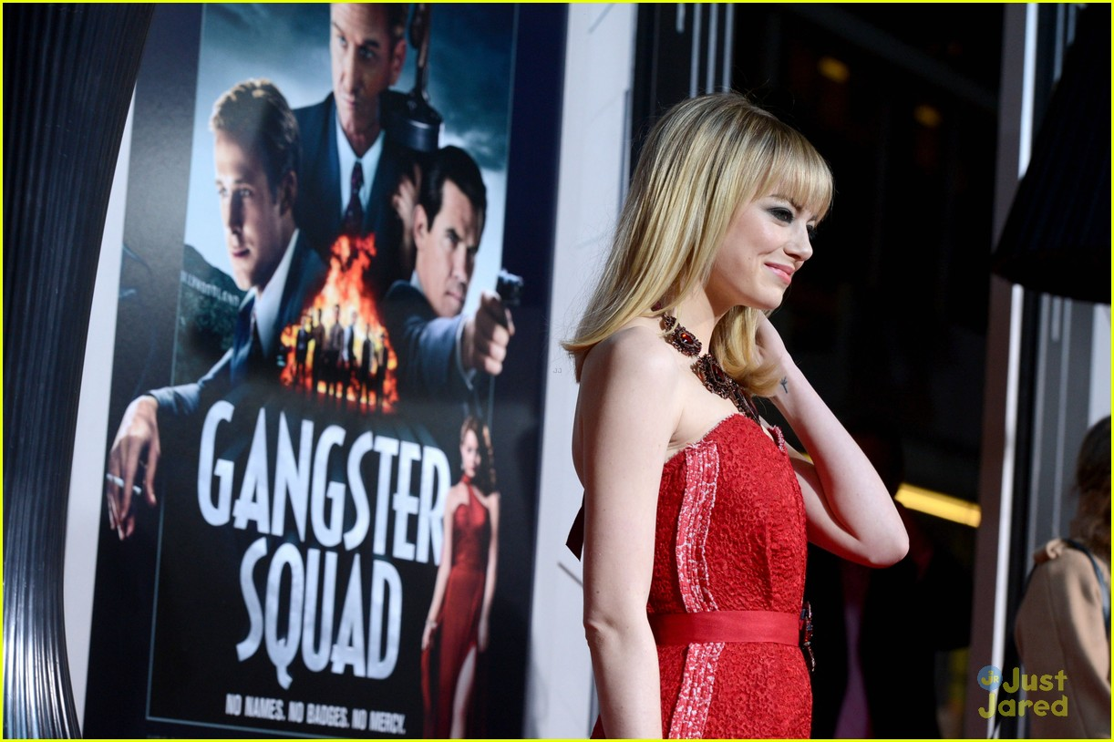 emma stone gangster premiere 18