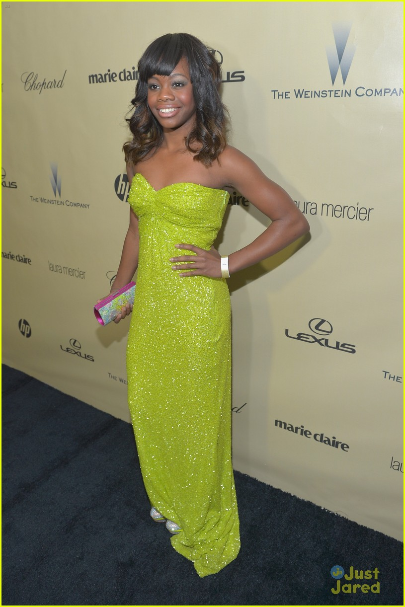 gabby douglas golden globe awards 18