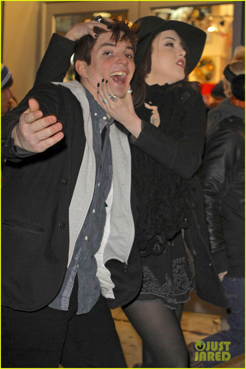 liz gillies goofing off in nyc 03