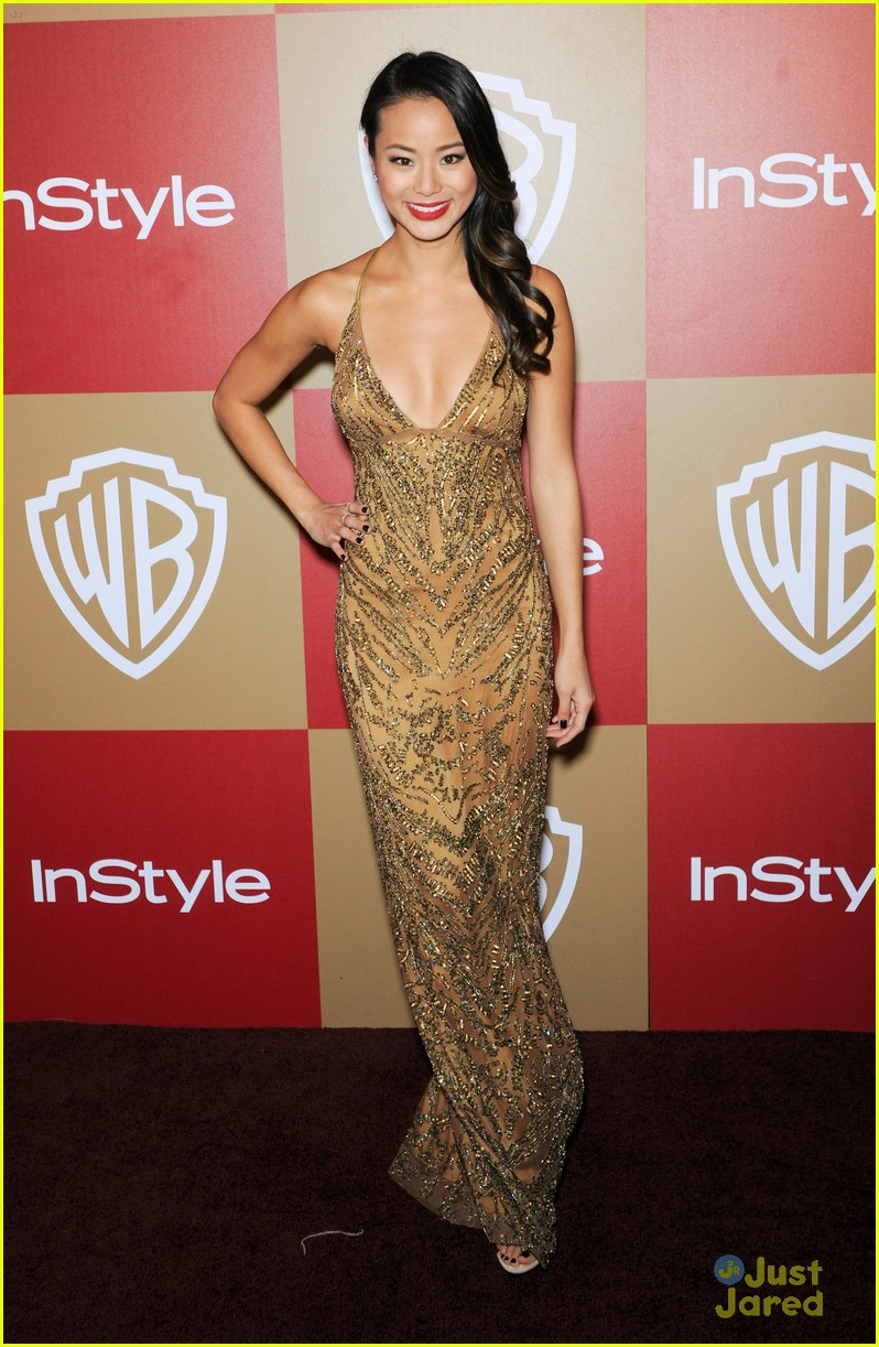 jamie chung jena malone instyle gg party 05