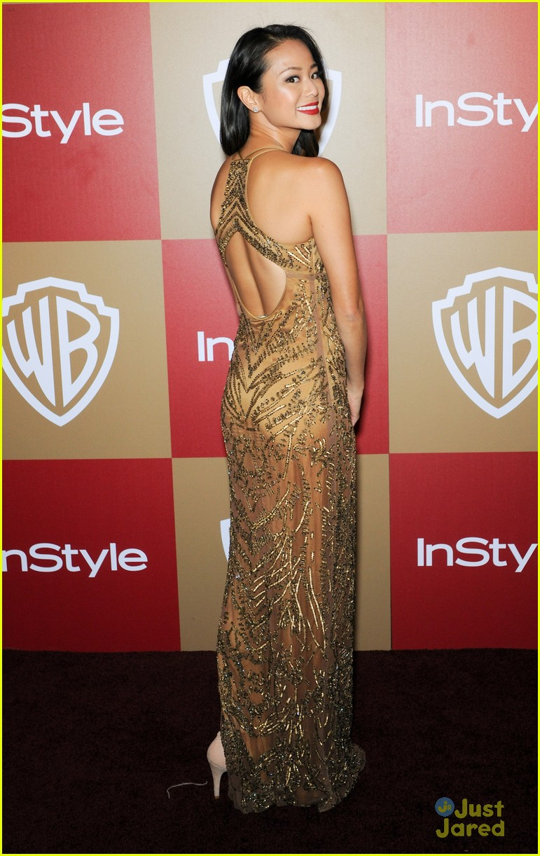 jamie chung jena malone instyle gg party 14