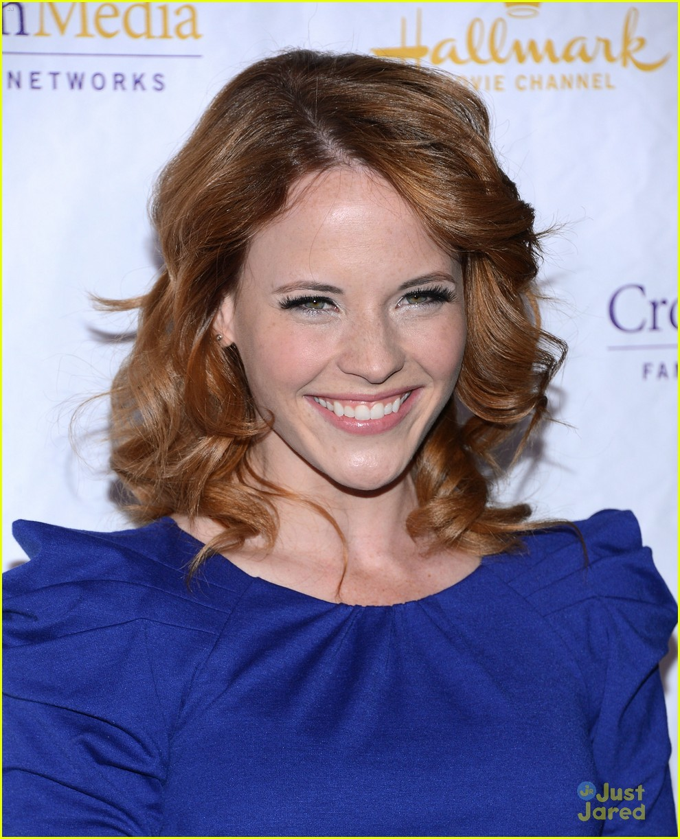 katie leclerc hallmark party 02