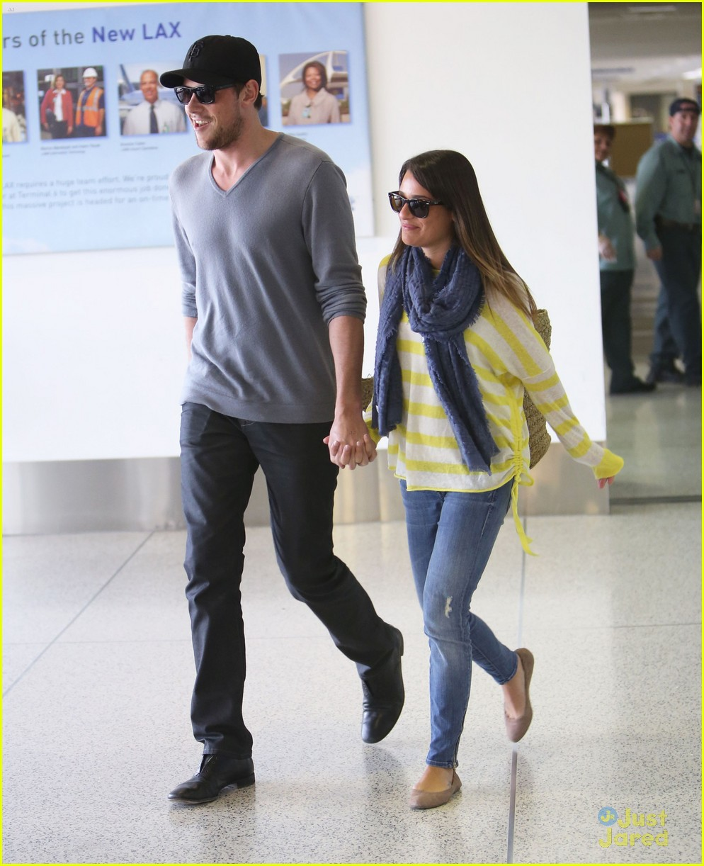 lea michele cory monteith lax 07