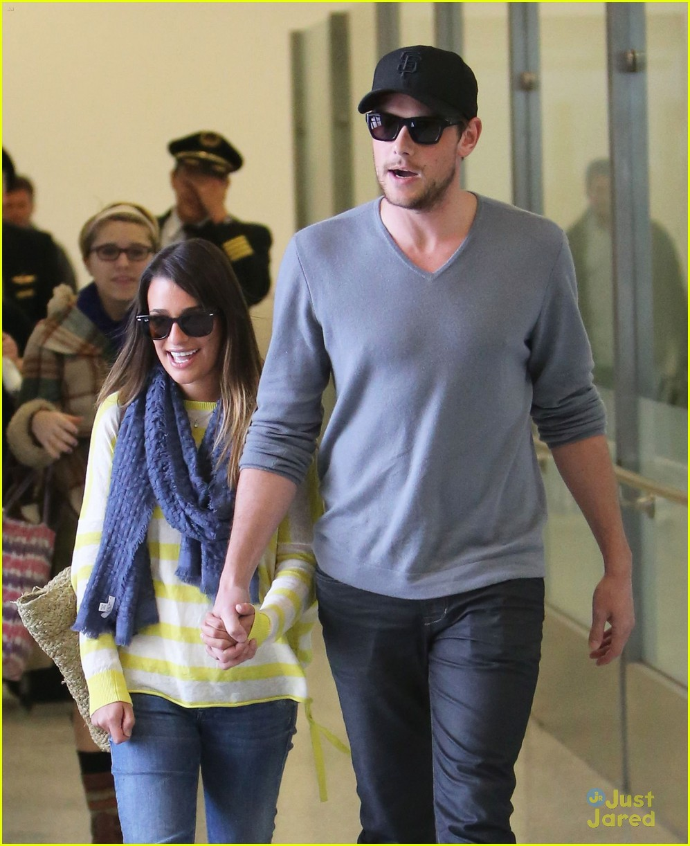 lea michele cory monteith lax 08