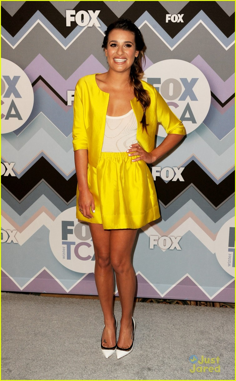 lea michele melissa benoist fox tca party 10