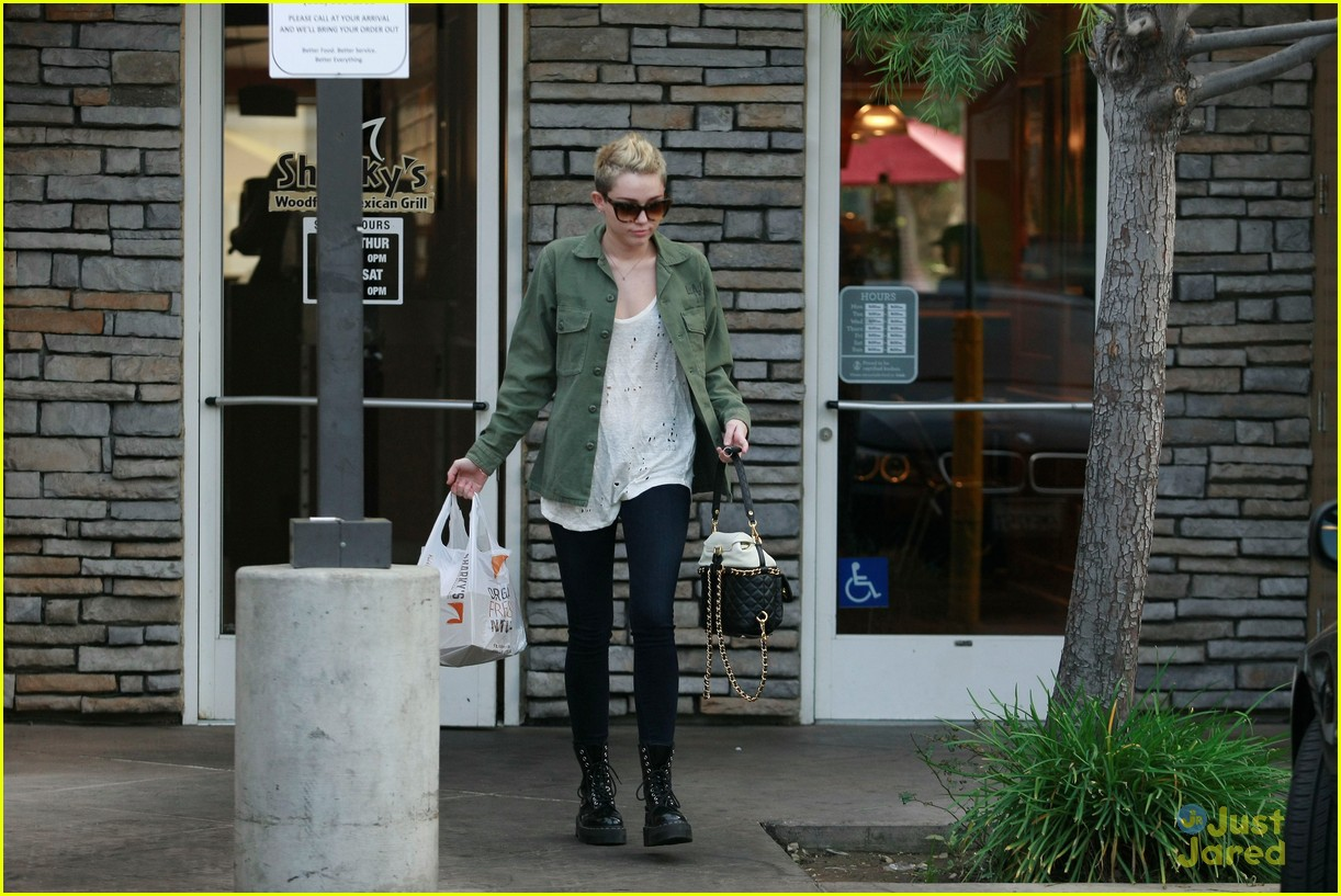 miley cyrus sharkys take out 01