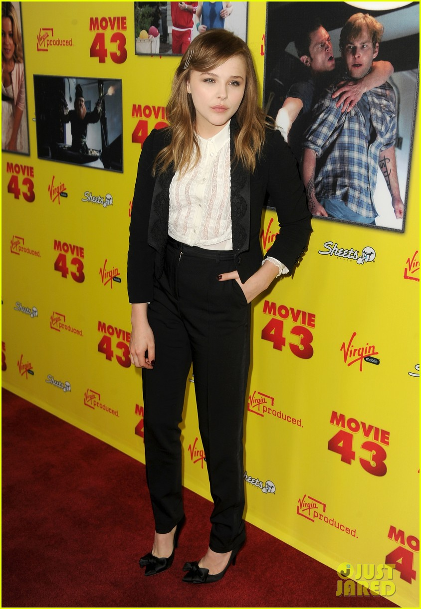 chloe moretz movie 43 premiere 12