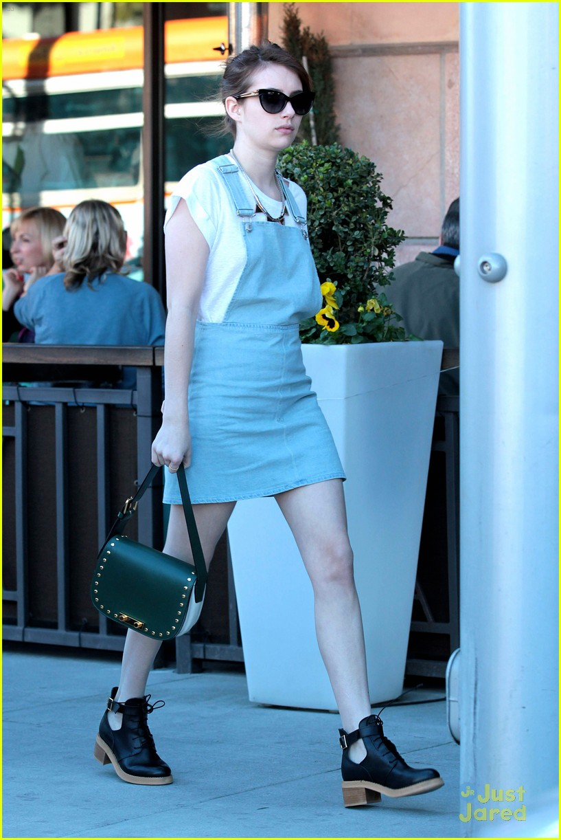 emma roberts ebaldi lunch 05