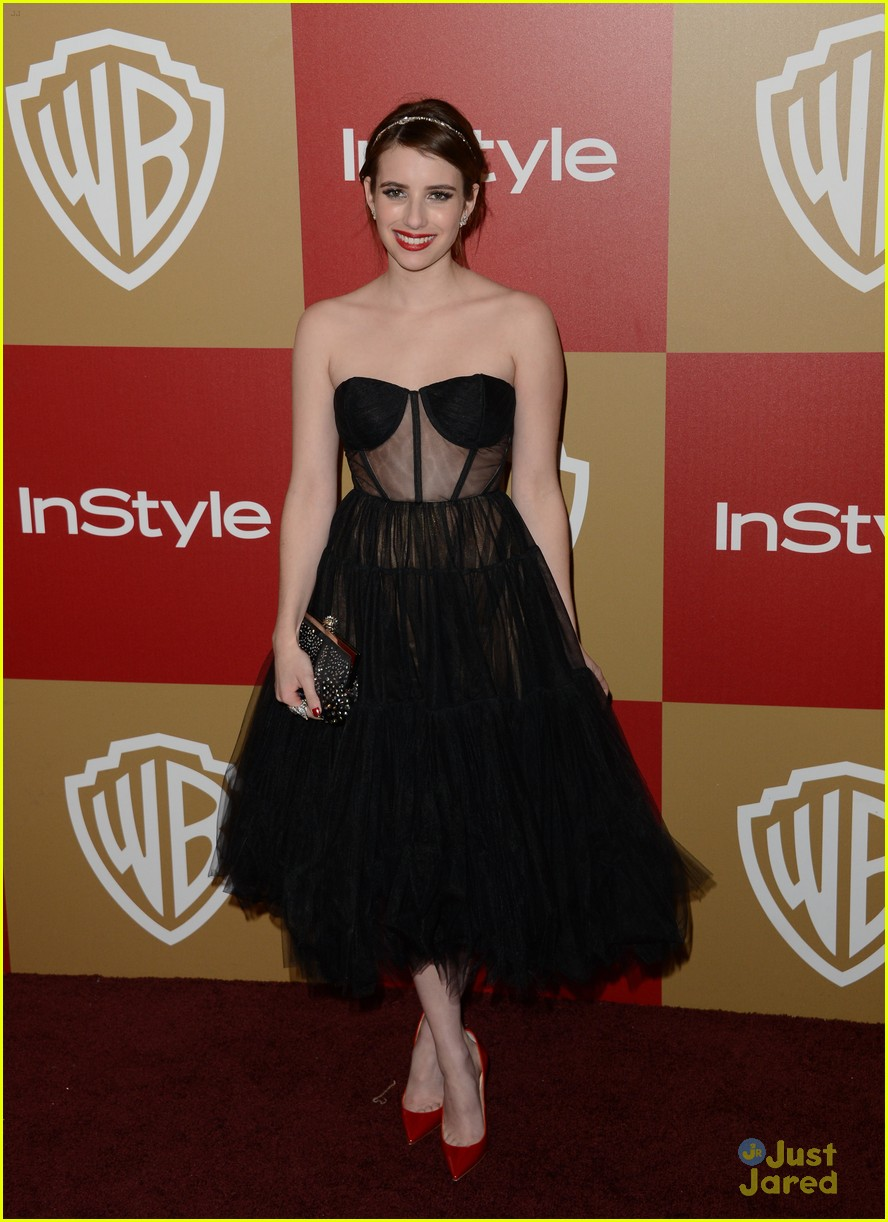 emma roberts instyle gg party 01