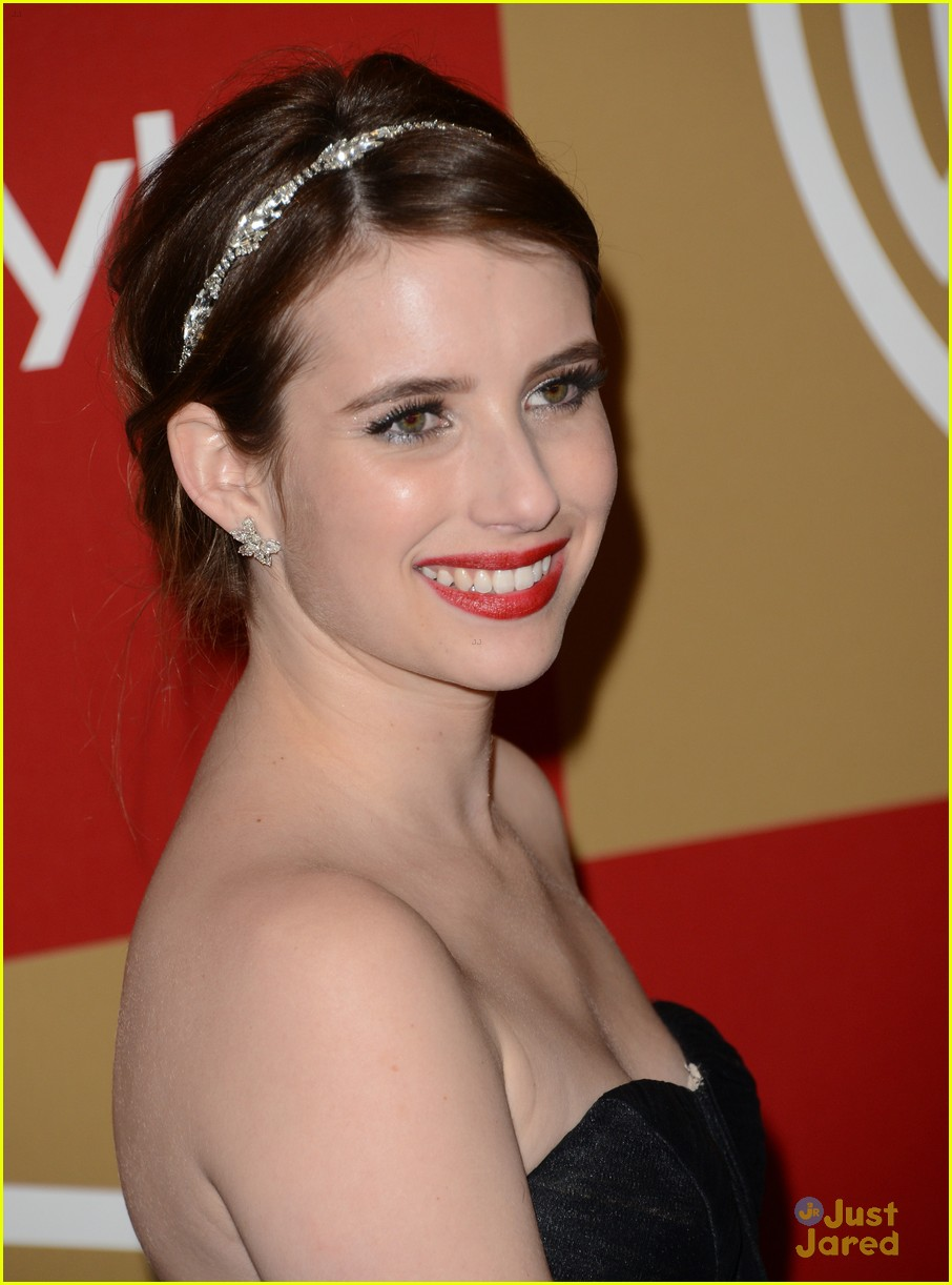 emma roberts instyle gg party 08