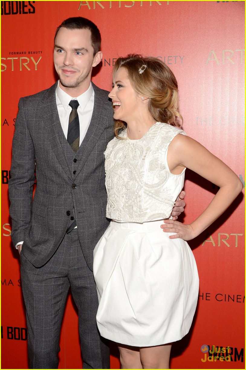 teresa palmer nicholas hoult warm bodies nyc 07