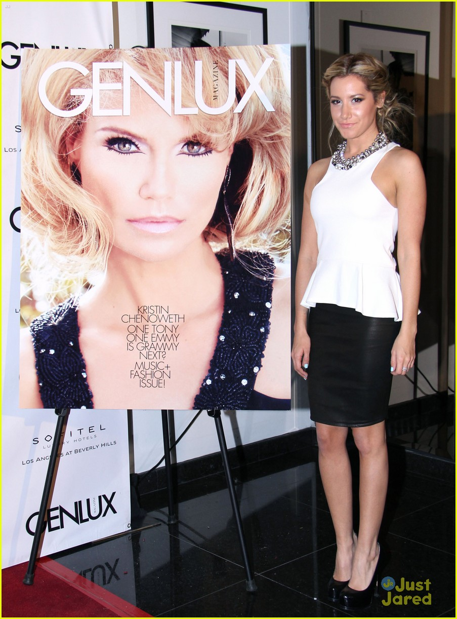 ashley tisdale genlux event 05