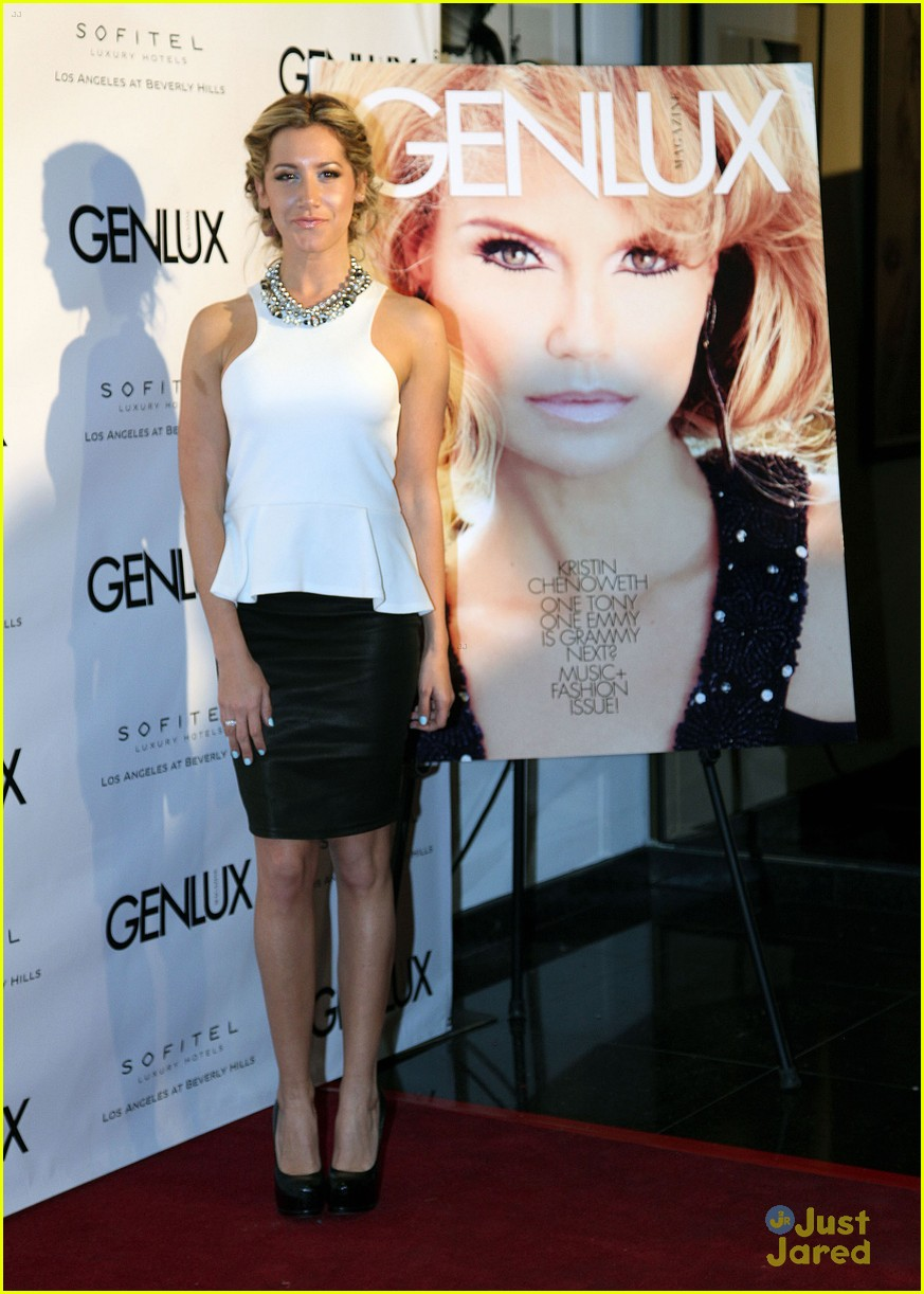 ashley tisdale genlux event 09