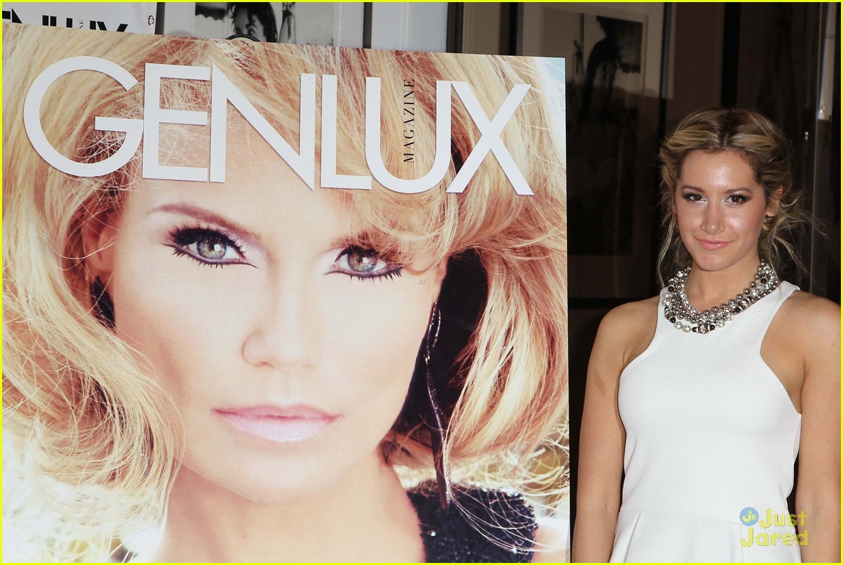 ashley tisdale genlux event 12