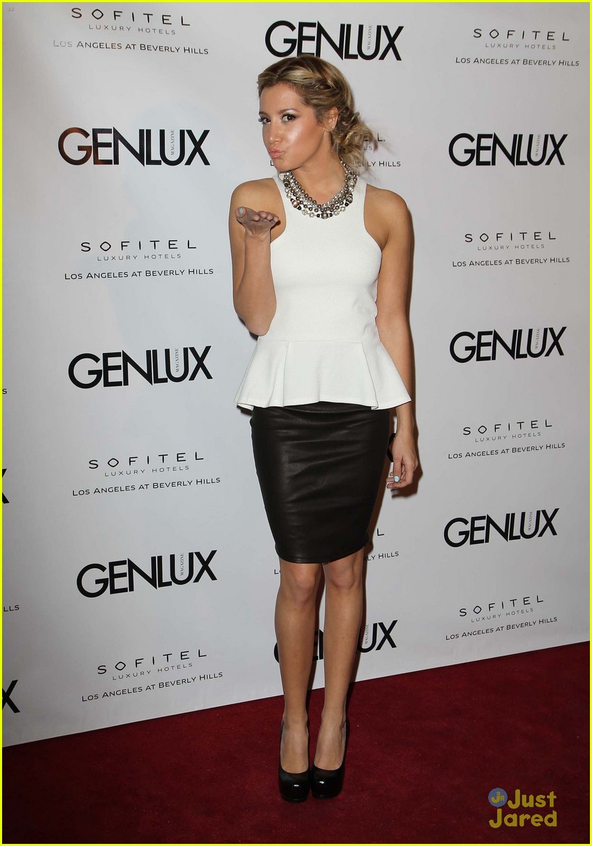 ashley tisdale genlux event 16