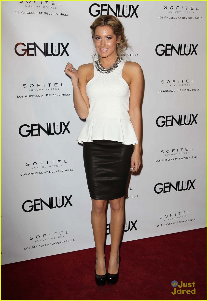 ashley tisdale genlux event 17
