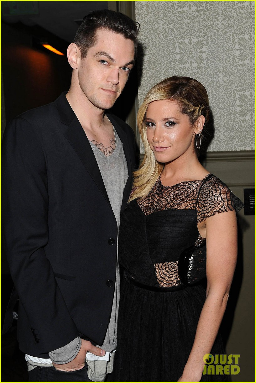 ashley tisdale christopher french nylon cover party 06