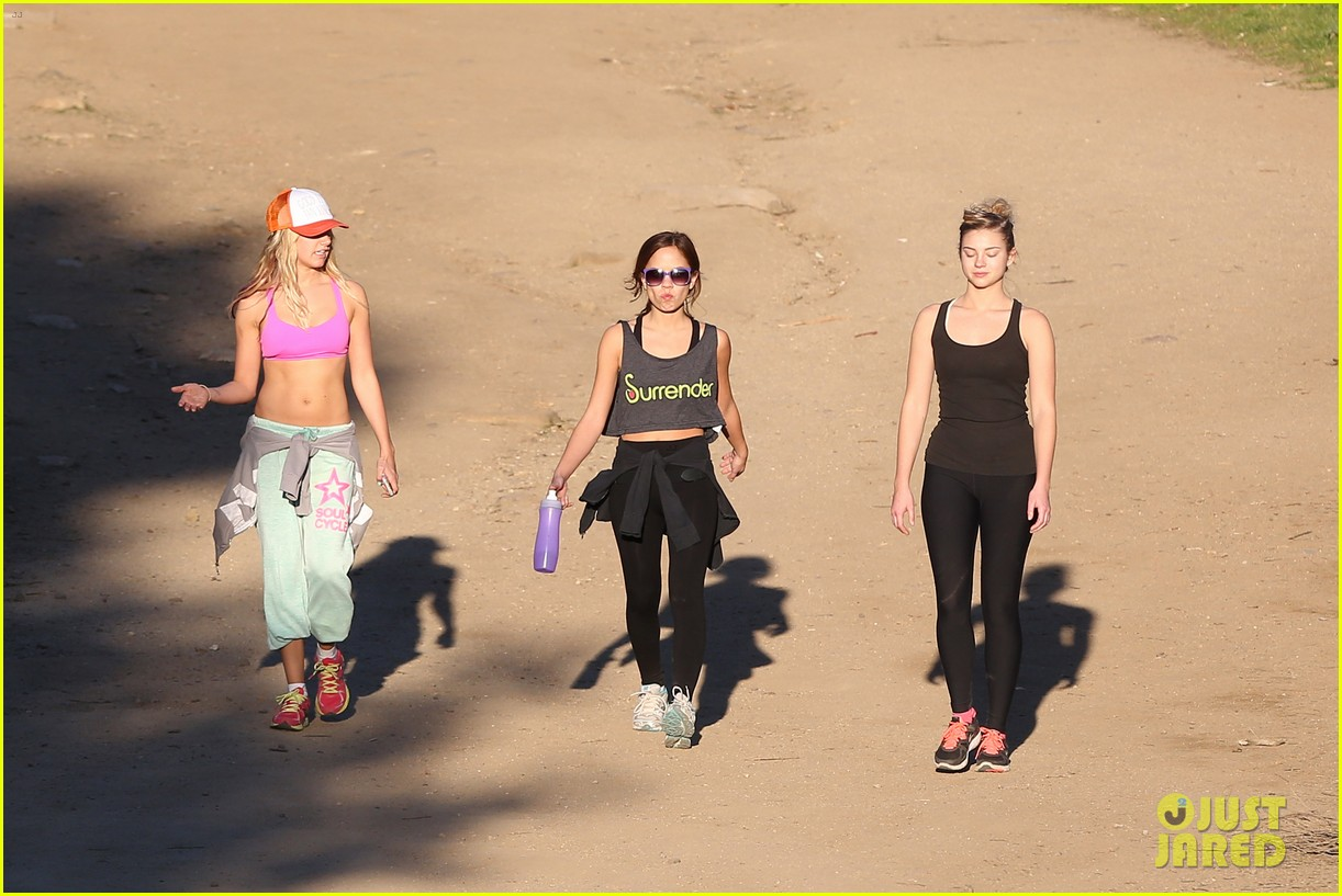 ashley tisdale allie gonino hiking buddies 25