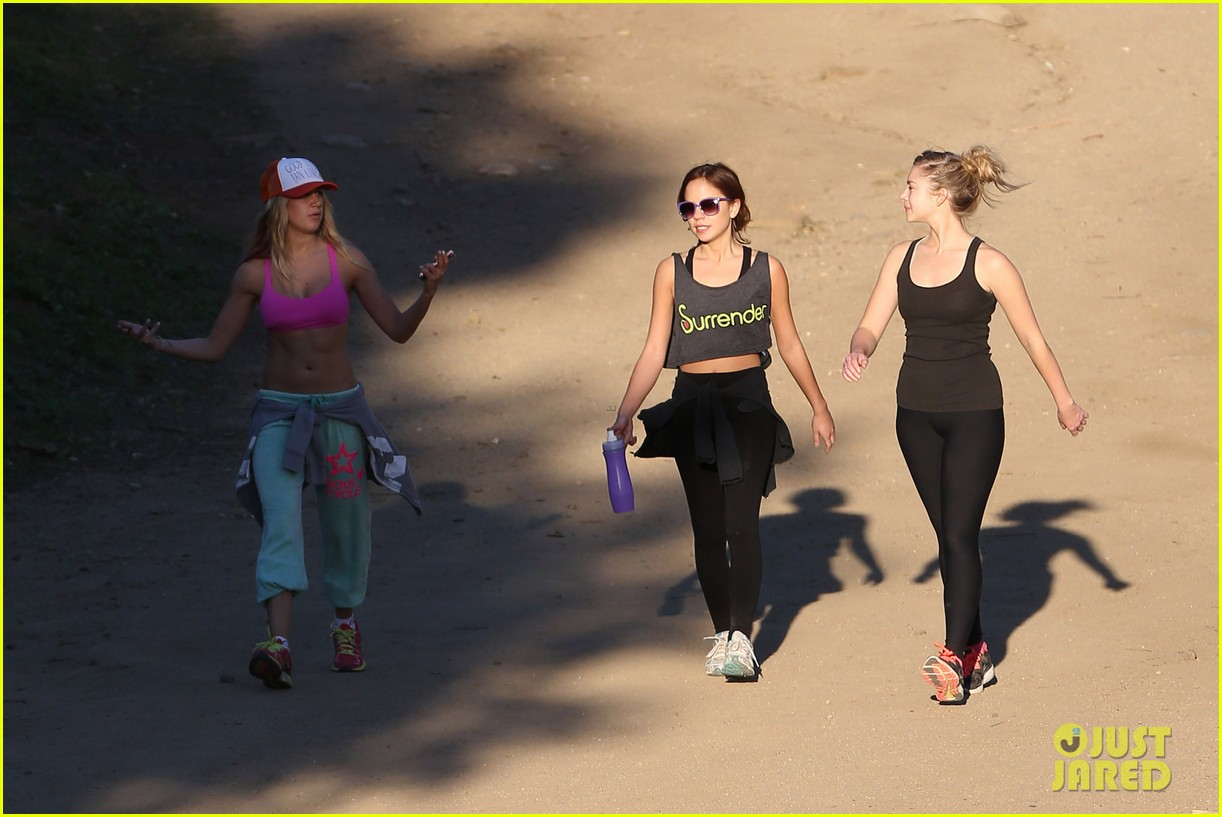 ashley tisdale allie gonino hiking buddies 31