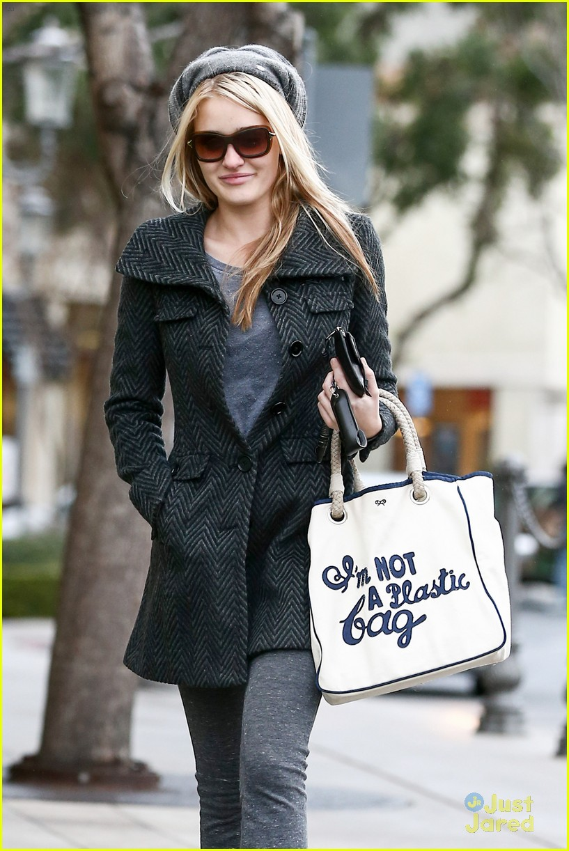 aj michalka plastic bag purse 04
