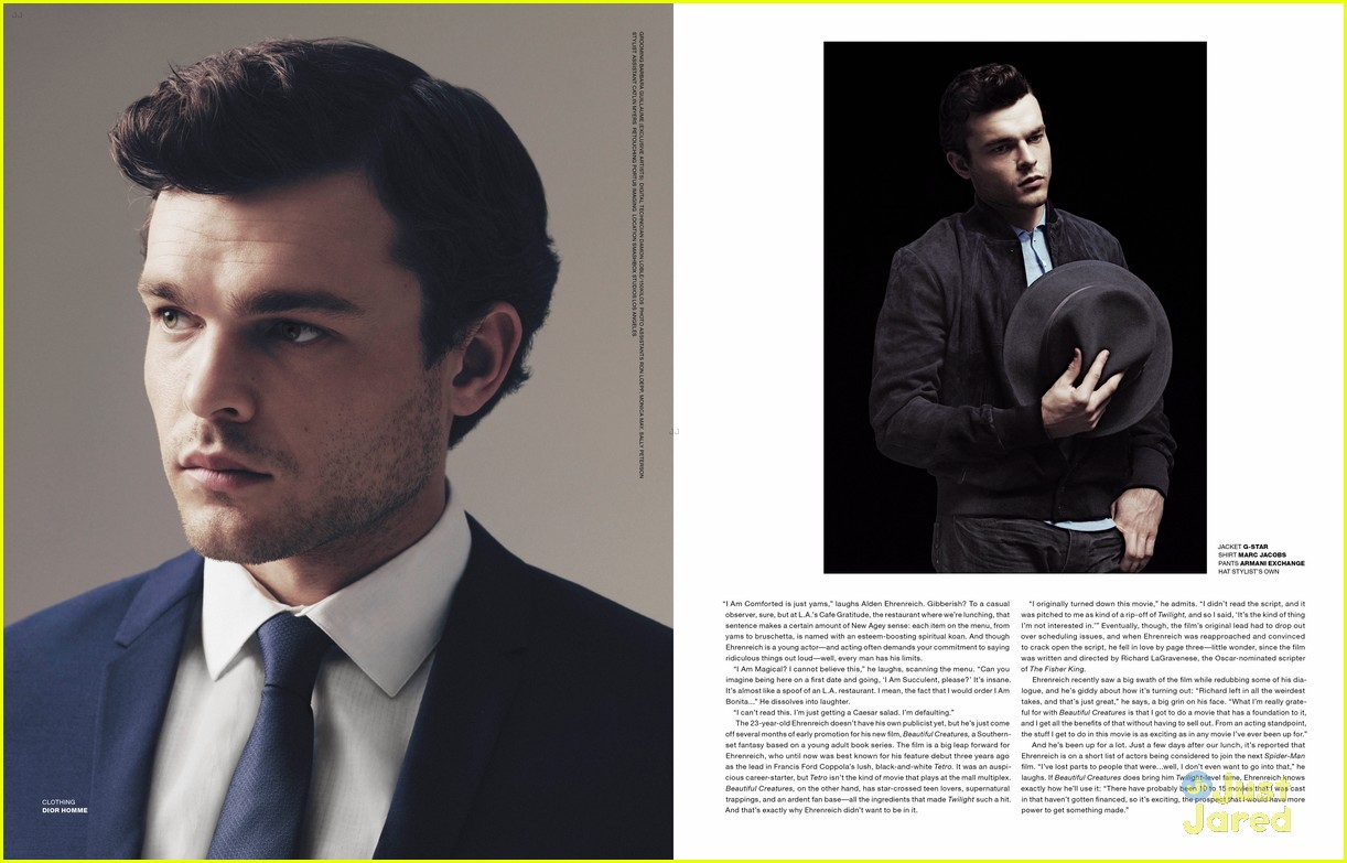 Alden Ehrenreich: 'VMan' Feature | Photo 537303 - Photo ...