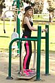 Bella-park bella thorne tristan klier park workout 05