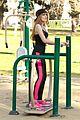 Bella-park bella thorne tristan klier park workout 05