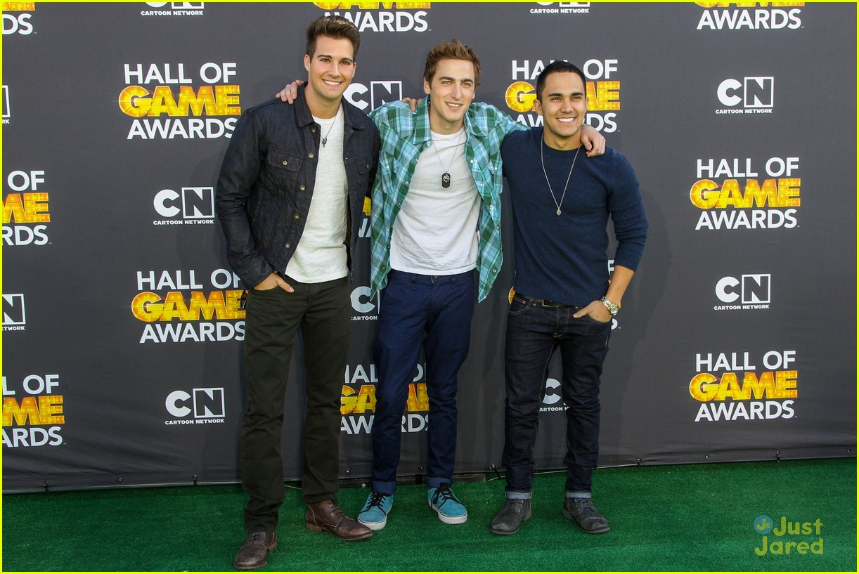 big time rush level up hall game awards 11