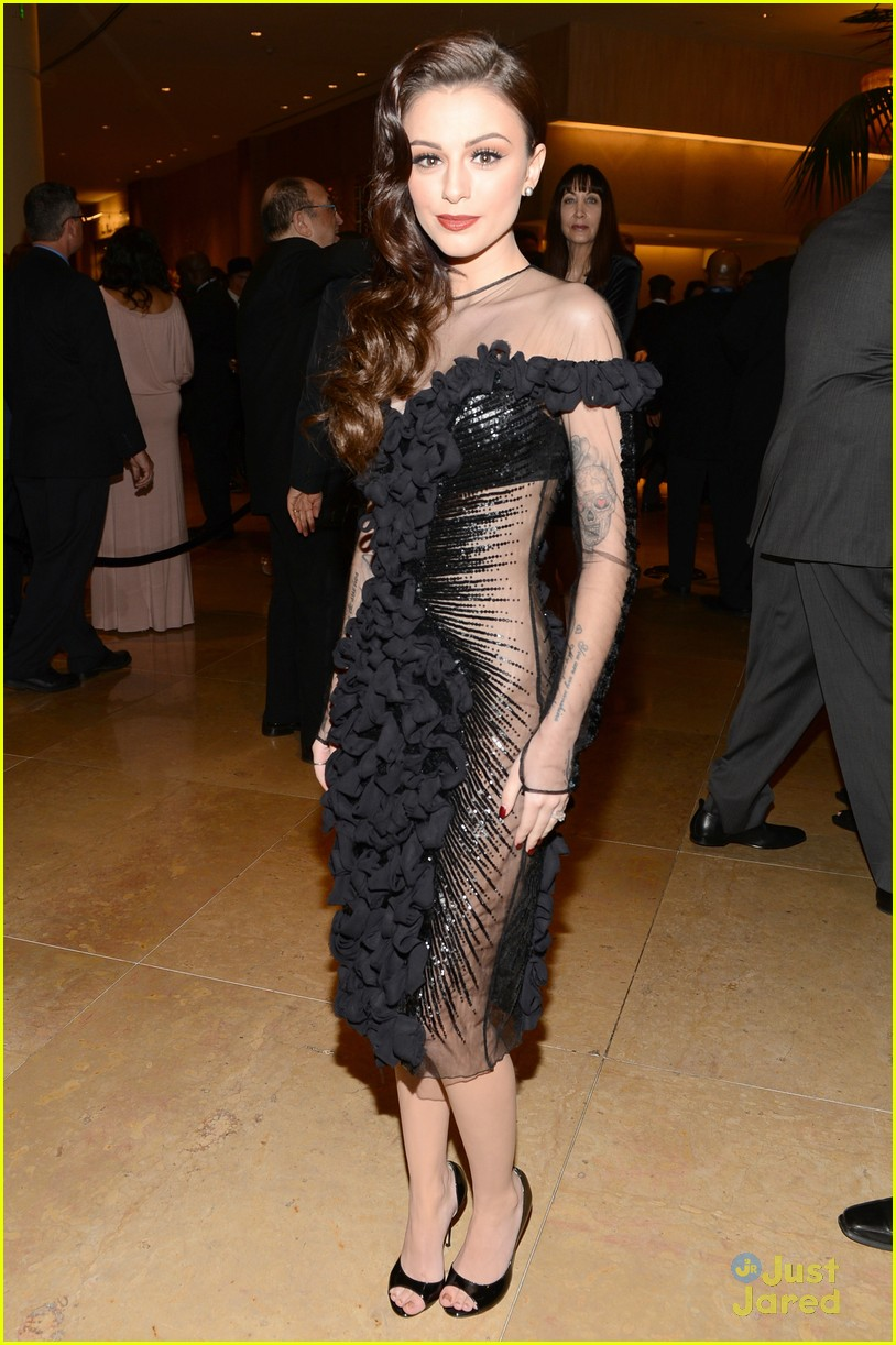 cher lloyd clive davis grammy party 07