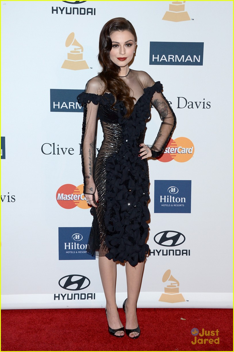 cher lloyd clive davis grammy party 12