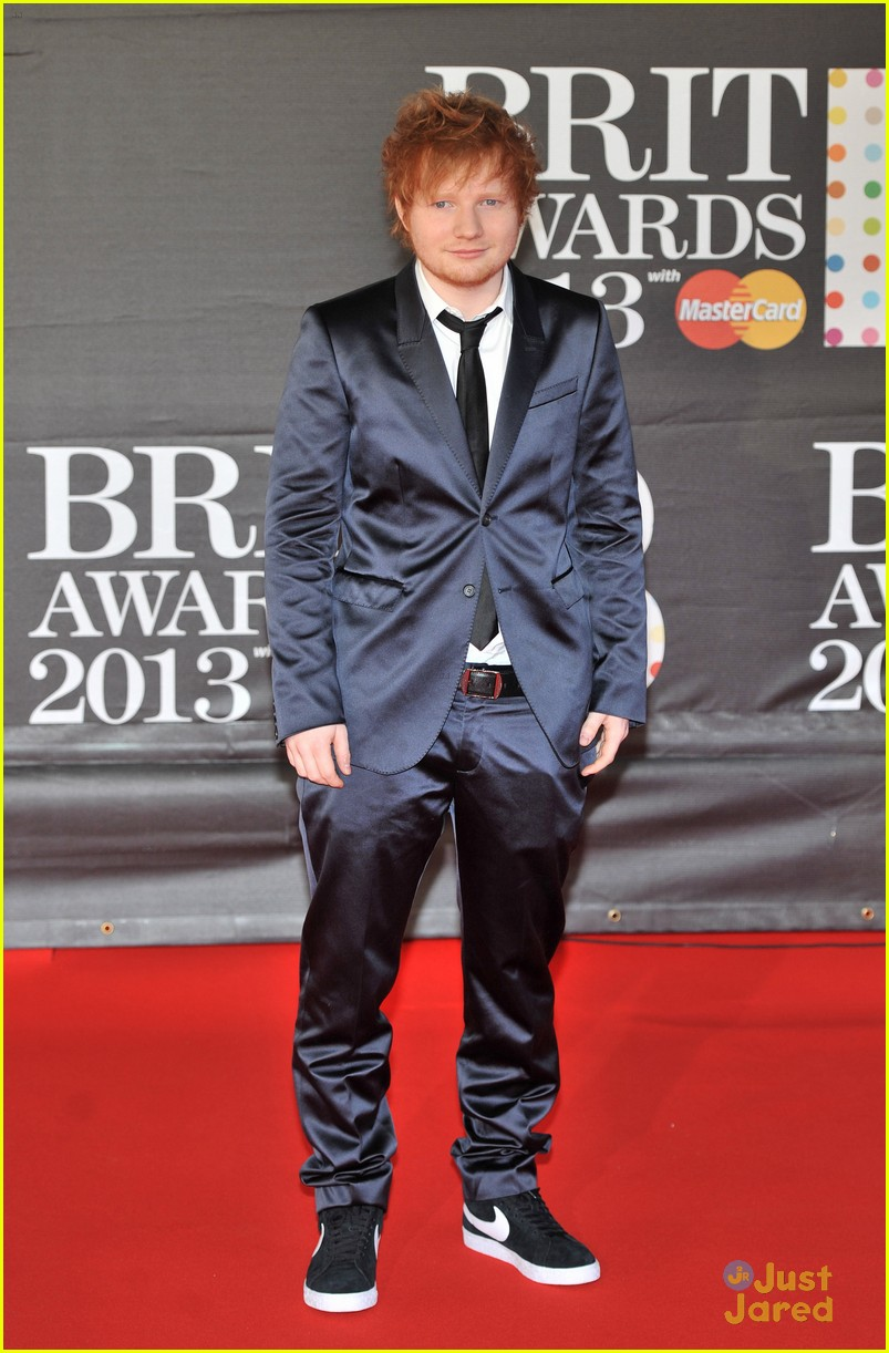 ed sheeran brit awards 05