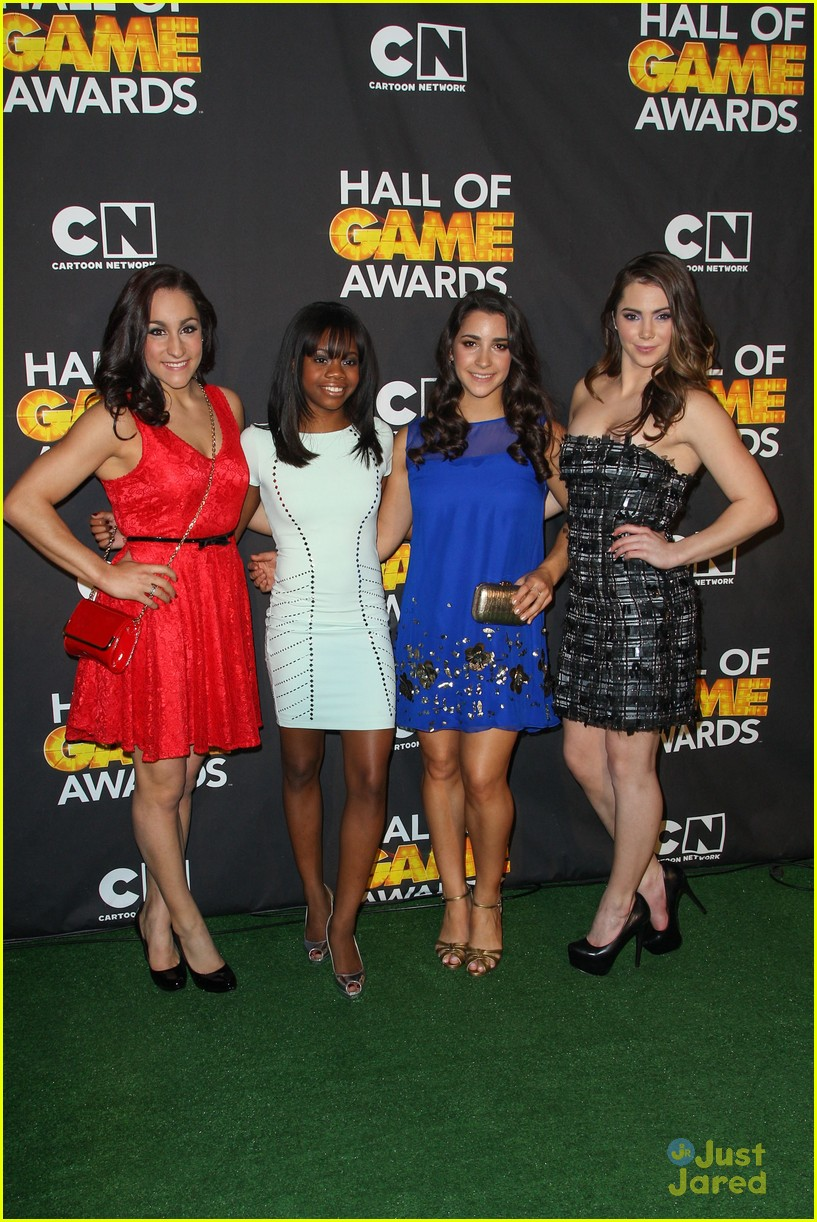 gabby douglas mckayla maroney aly raisman hall game awards 08