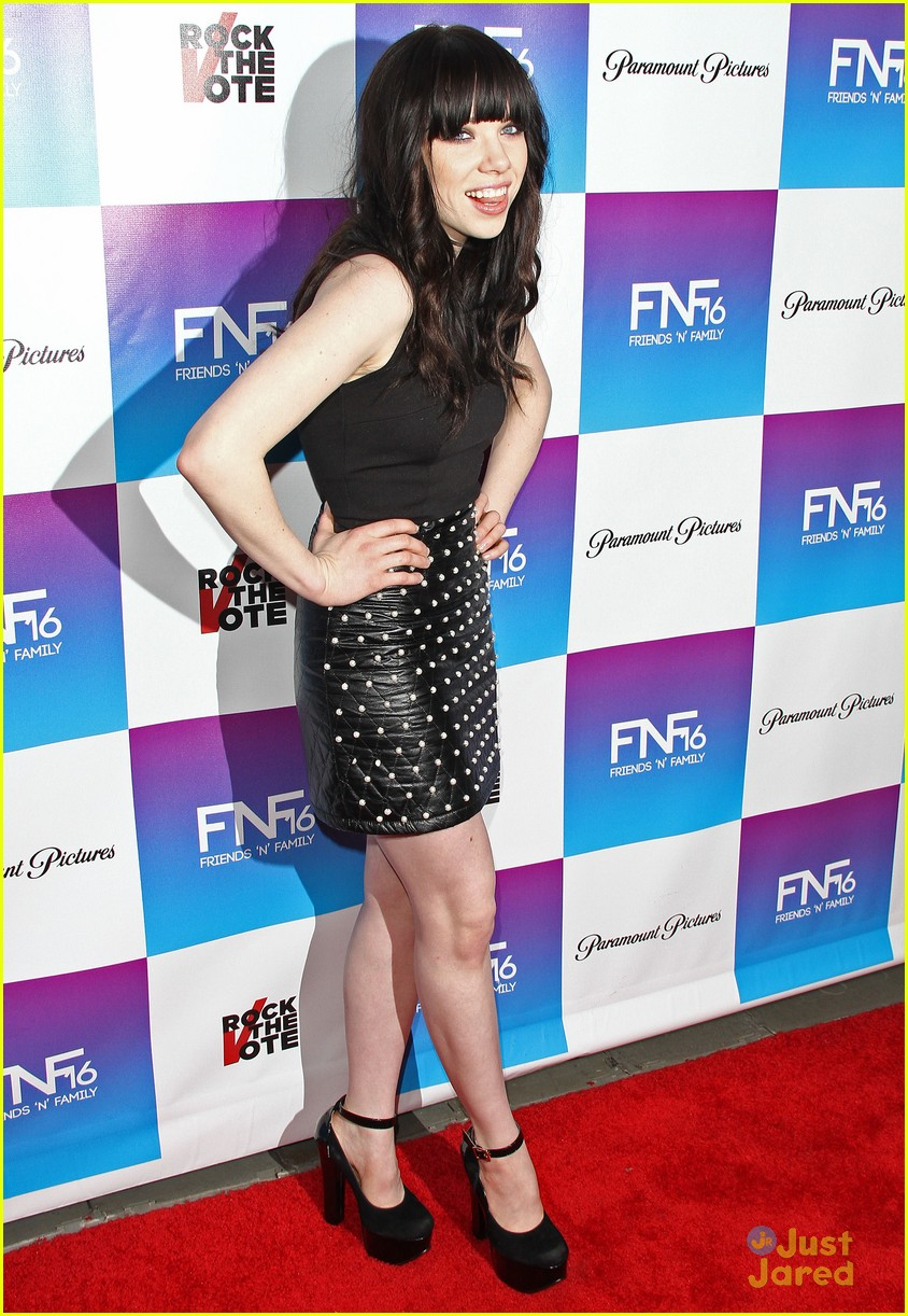 carly rae jepsen friends family pregrammy 20