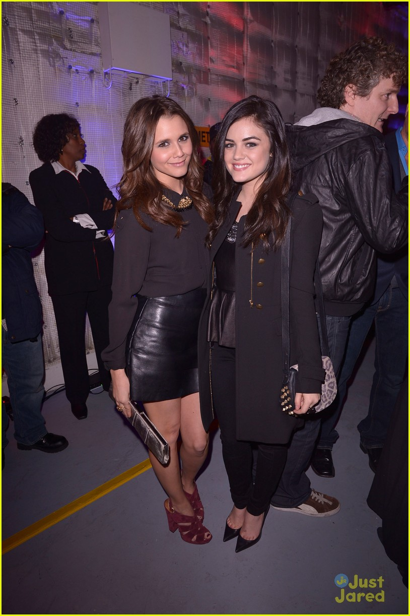 jesse mccartney lucy hale friends grammy 07