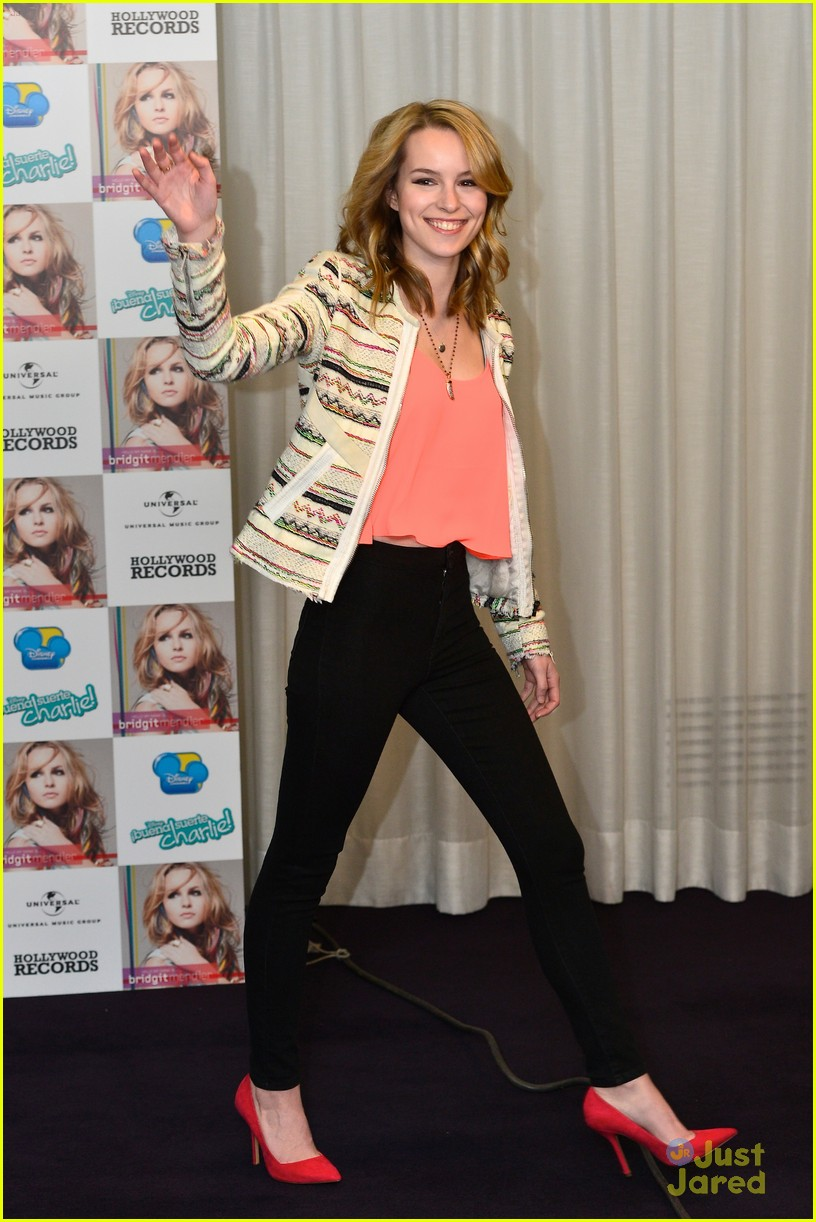 bridgit mendler madrid album photocall 09